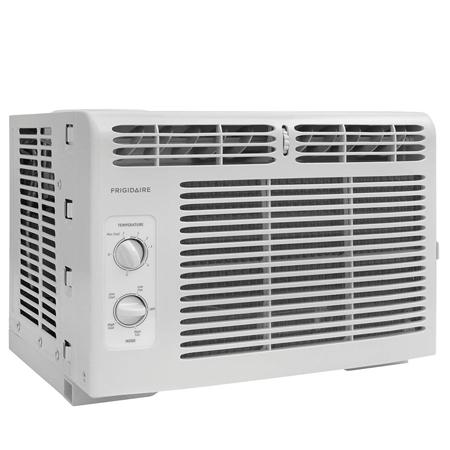 Frigidaire FFRA0511R1 E 5, 000 BTU 115V Window-Mounted Mini-Compact Air Conditioner with Mechanical Controls