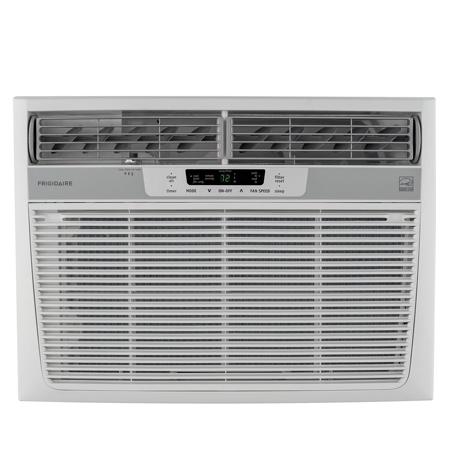 Frigidaire FFRE1533Q1 15,100 BTU 115V Window-Mounted Median Air Conditioner with Temperature Sensing Remote Control