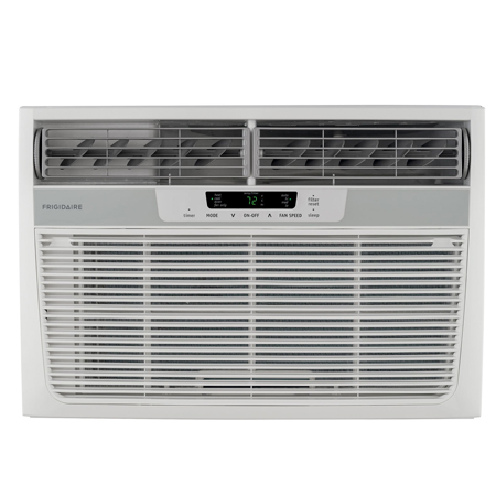 FRIGIDAIRE 8,000 BTU 115V Compact Slide-Out Chasis Air Conditioner/Heat Pump w/Full-Function Remote Control, FFRH0822Q1