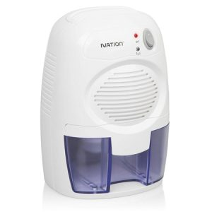 Ivation IVADM10 Powerful Small-Size Thermo-Electric Dehumidifier