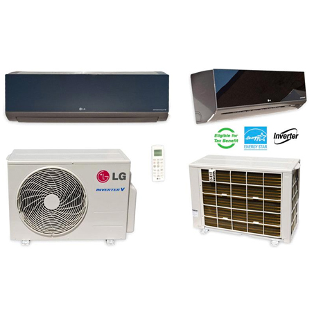 LG Ductless Mini Split Air Conditioner LA120HSV5 12000 BTU Heat and Cool with Built-in WiFi