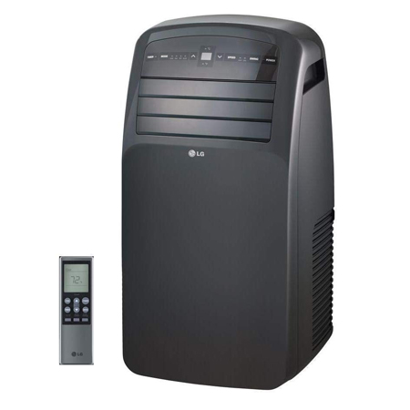 LG LP1215GXR 115V Portable Air Conditioner with LCD Remote Control