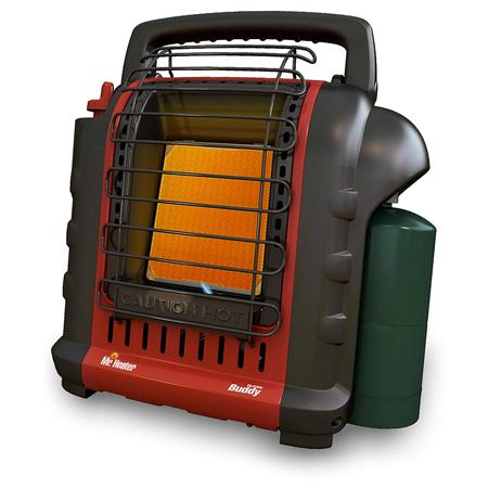 Mr. Heater F232025 MH9BX Buddy 4,000-9,000-BTU Portable Radiant Heater